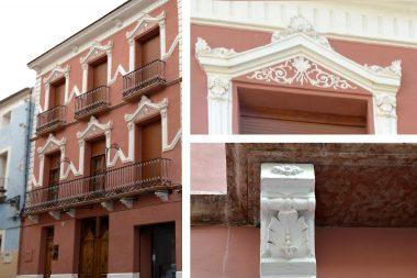 fachada apartamento boutique Villa Magda en Villena